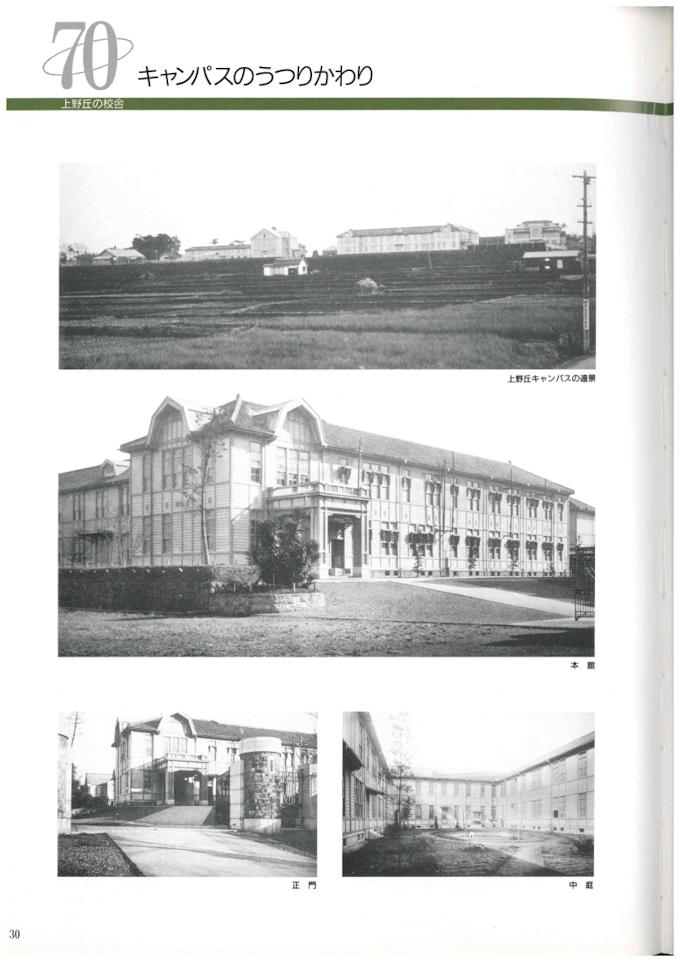 大分高等商業学校時代の校舎